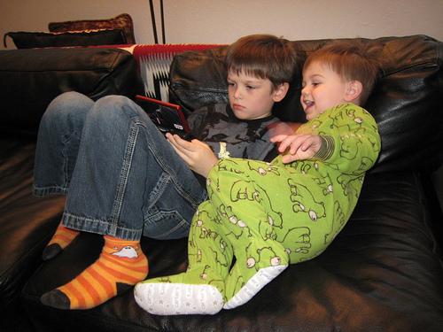 Nå er de rolige og alt er fint, men de går lei etter bare 6-7 timer (Foto: Flickr/Neeta Lind)